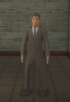 Business male - asian - character model in Saints Row 2