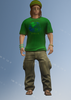 DJ Veteran Child - character model in Saints Row IV