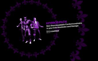 DLC unlock SRTT - Horror Pack