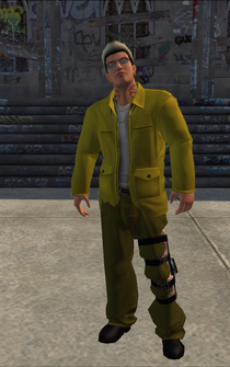 Johnny Gat - Vice Kings - character model in Saints Row