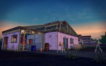 Quinbecca - house under construction