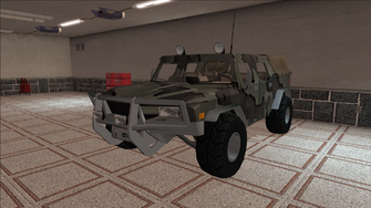 Saints Row variants - Bulldog - Military - front left
