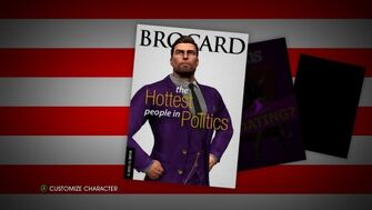 Select character in Saints Row IV