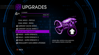 Upgrades menu in Saints Row IV - Page 4 of Combat