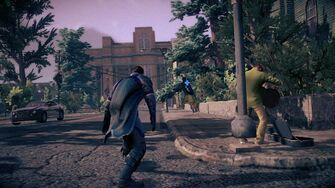 Combat - Super rear running attack in Saints Row IV - end