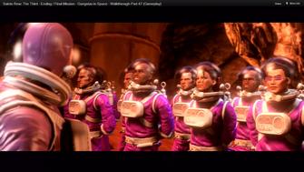Gat in gangstas in space