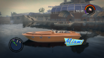 Miami - left with logo in Saints Row 2