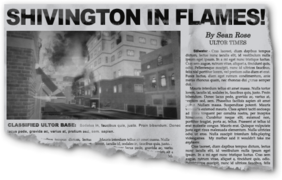 Newspaper ss05 Burning Down the House