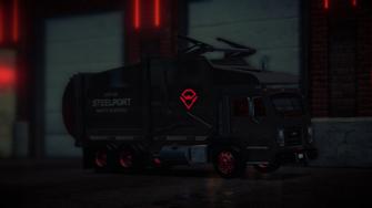 Steelport Municipal - Alien - front right in Saints Row IV