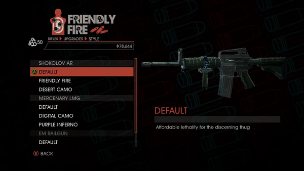 Weapon - Rifles - Automatic Rifle - Shokolov AR - Default