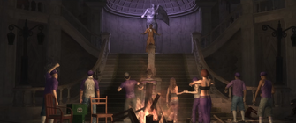 Welcome to the Third Street Saints cutscene in Saints Row 2