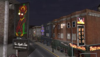 Bavogian Plaza in Saints Row - The Nipple Zone