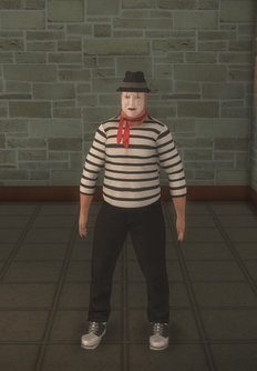 Mime - male white - character model in Saints Row 2