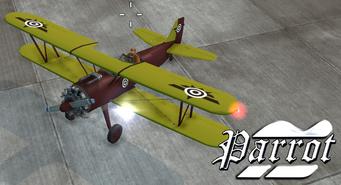 Parrot - Biplane Decals 2 variant