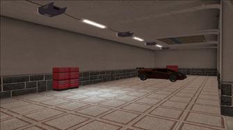Price Mansion - garage