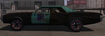 Ruckus - left in Saints Row