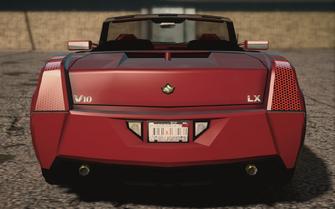 Saints Row IV variants - Sovereign Topless - rear