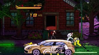 Saints of Rage - 2D Ronin Car