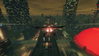 Vehicle Screaming Eagle flying