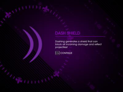 Welcome Back - Dash Shield unlocked