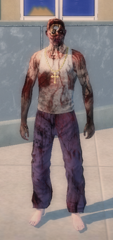 Zombie Carlos in Saints Row 2 - full body