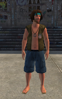 Hippie male - hippie2 - character model in Saints Row