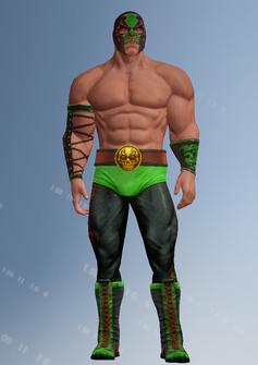 Killbane - wrestler - character model in Saints Row IV