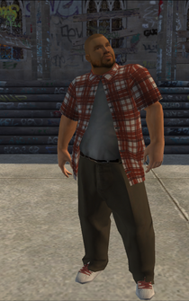 Los Carnales male Thug2-02 - hispanic - character model in Saints Row