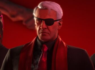 Phillippe Loren in an unknown cutscene in Saints Row The Third Remastered