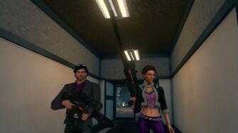 Playa and Shaundi with TOGO-13 Rifles