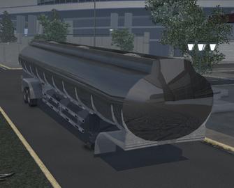 Tank trailer - Bling variant