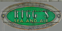 Vehicle Theft - Rigg's Sea and Air sign