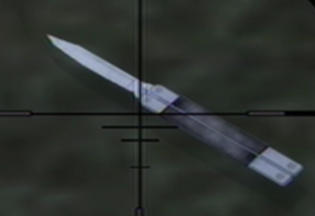 Butterfly Knife in Saints Row 2