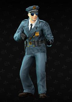 Cop - sniper - Alejandro - character model in Saints Row The Third
