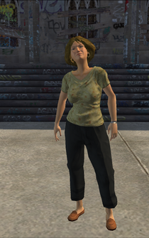 Drug Trafficking - Laura - character model in Saints Row