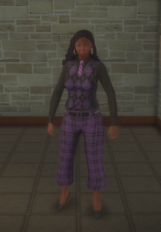 Gang Customization - Prephop - female lieutenant - black