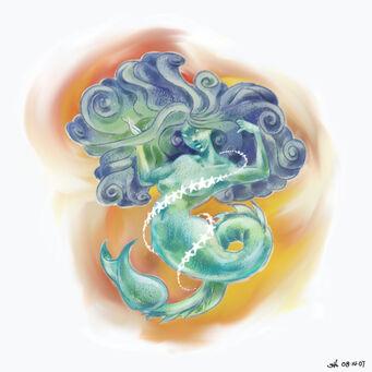 Poseidon's Palace Painting