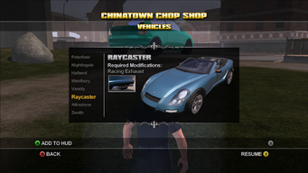 Saints Row Chop Shop - Chinatown - Raycaster