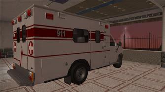 Saints Row variants - Ambulance - rear right
