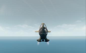 Scythe in jet mode - front