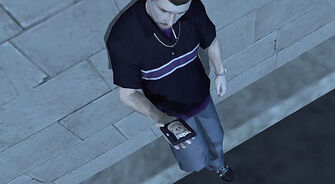 Troy in Saints Row final mission