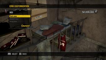University Loft - Crib Customization - Bed - Twin size