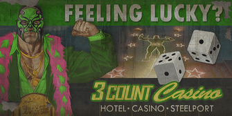 3 Count Casino - Feeling Lucky billboard