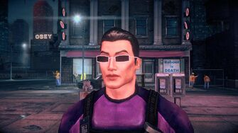 Johnny Gat - Face in Saints Row IV