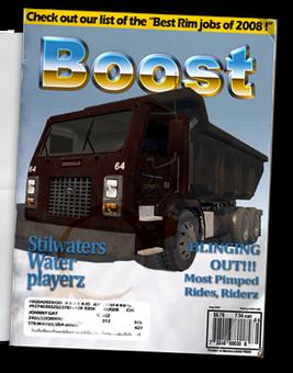 Longhauler - Chop Shop magazine