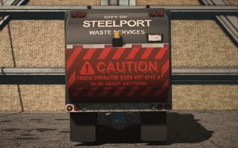 Saints Row IV variants - Steelport Municipal Alien - rear