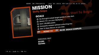 Saints Row Money Shot Mission objectives - Shifty Snipe