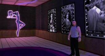 Tee'N'Ay - interior lobby bouncer in Saints Row