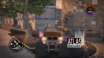 Atlasbreaker - front in Saints Row 2