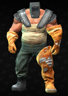 Brute Flamethrower - character model in Saints Row The Third